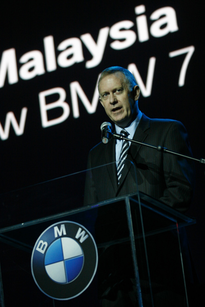 BMW Malaysia MD Geoffrey Briscoe makes a firm statement about the new BMW 7 Series