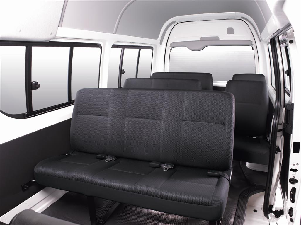2010 toyota hiace facelift. Black Bedroom Furniture Sets. Home Design Ideas