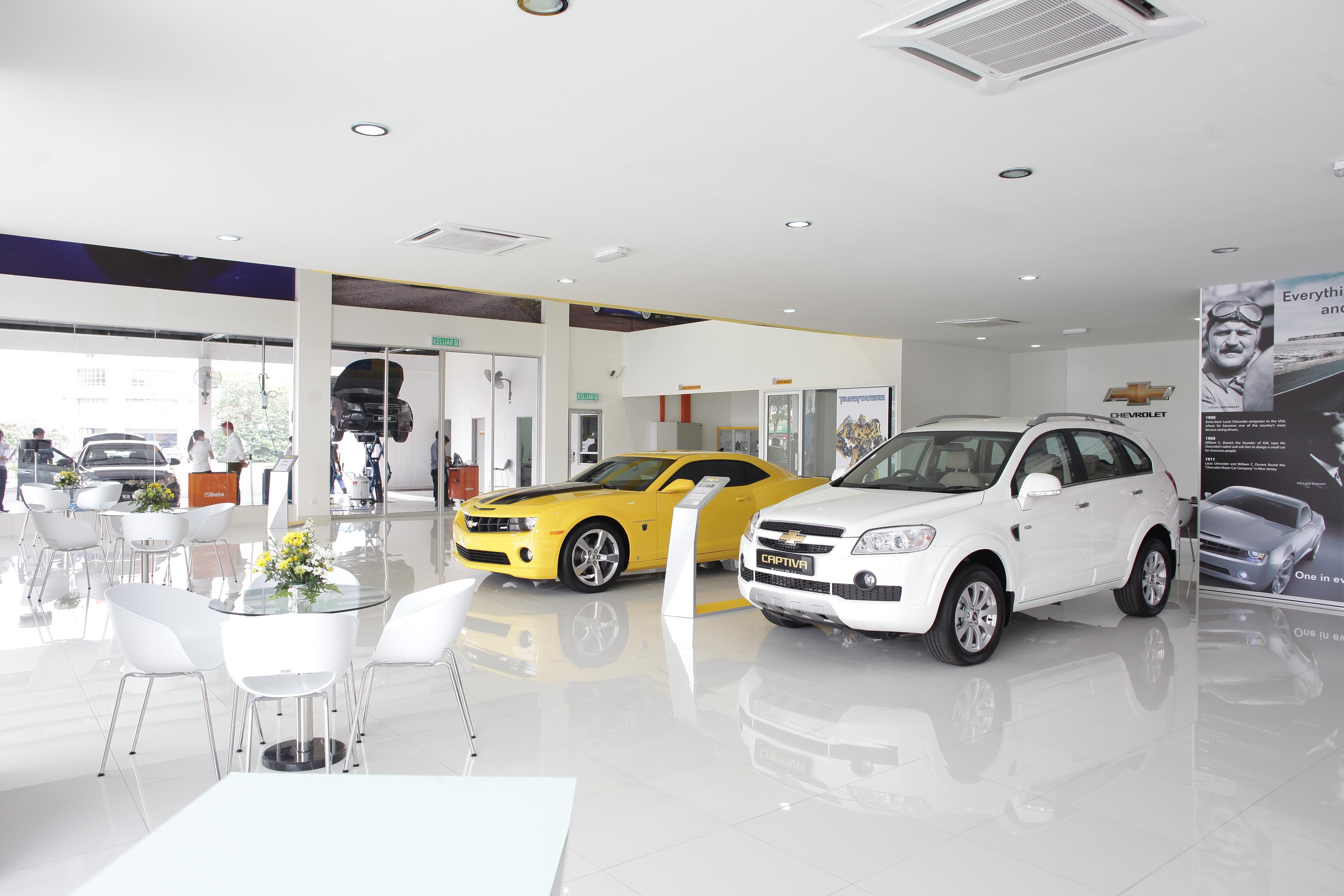 Chevrolet 3s centre rolls into puchong for General motors chevrolet customer service