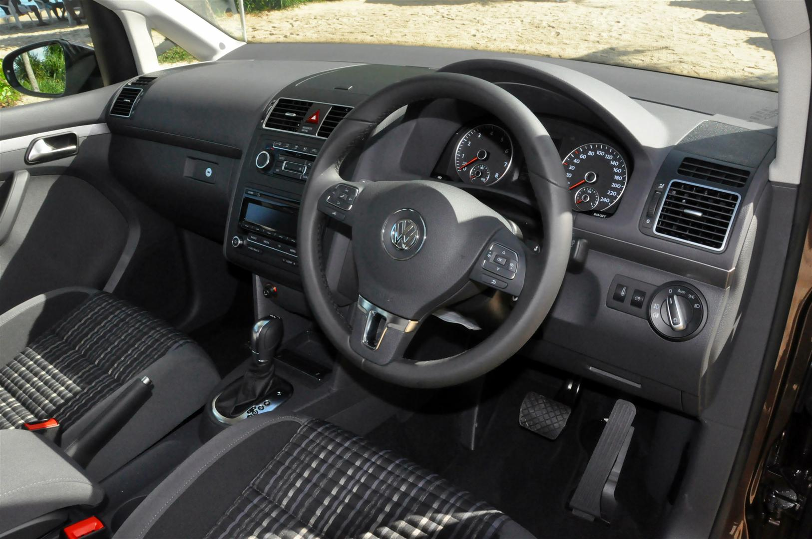 The volkswagen cross touran unconventional performance for Interior touran