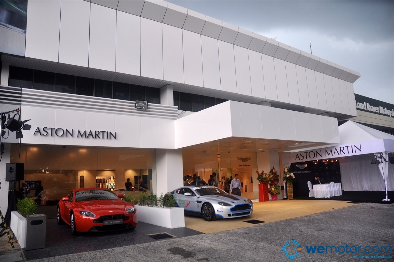 Aston Martin Opens First Showroom In Malaysia Wemotorcom - Aston martin dealerships