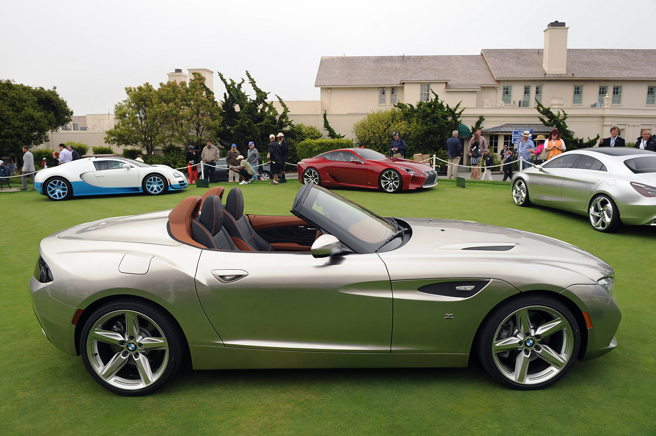 BMW Zagato Roadster Unveiled At 2012 Pebble Beach Concours d ...