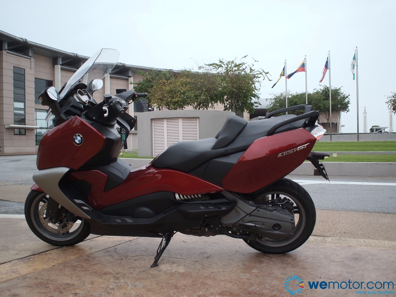 BMW C650 GT Review 020