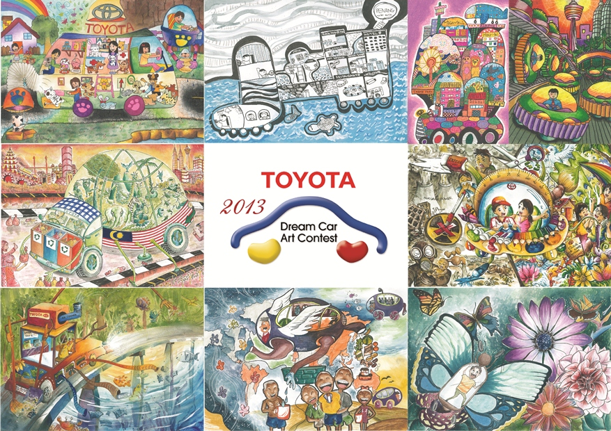 Toyota Dream Car Art Contest National Phase Winners Announced - wemotor.com
