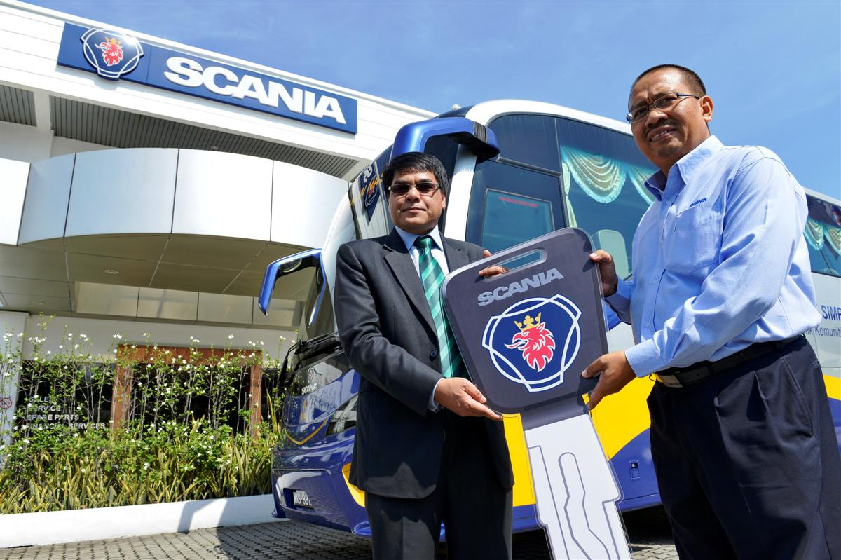 Scania Bus Handover To BSN
