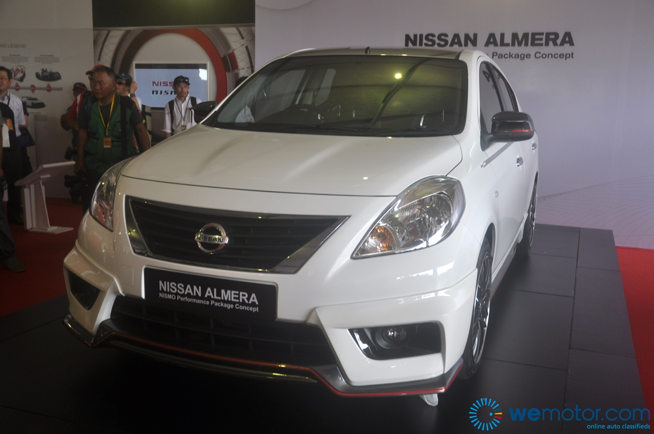 2013 Nissan Almera Nismo Performance Package Concept 003