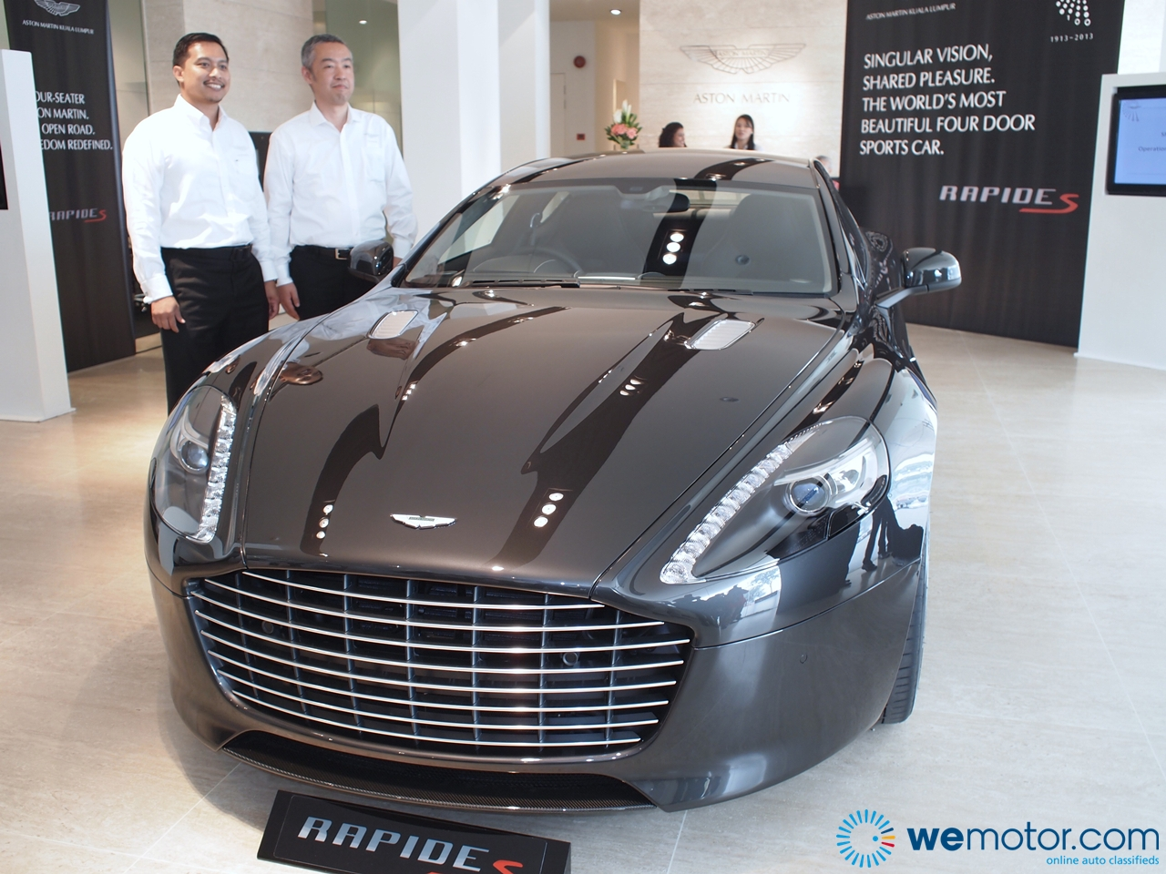 2014 aston martin rapide s launched - price starts from rm1
