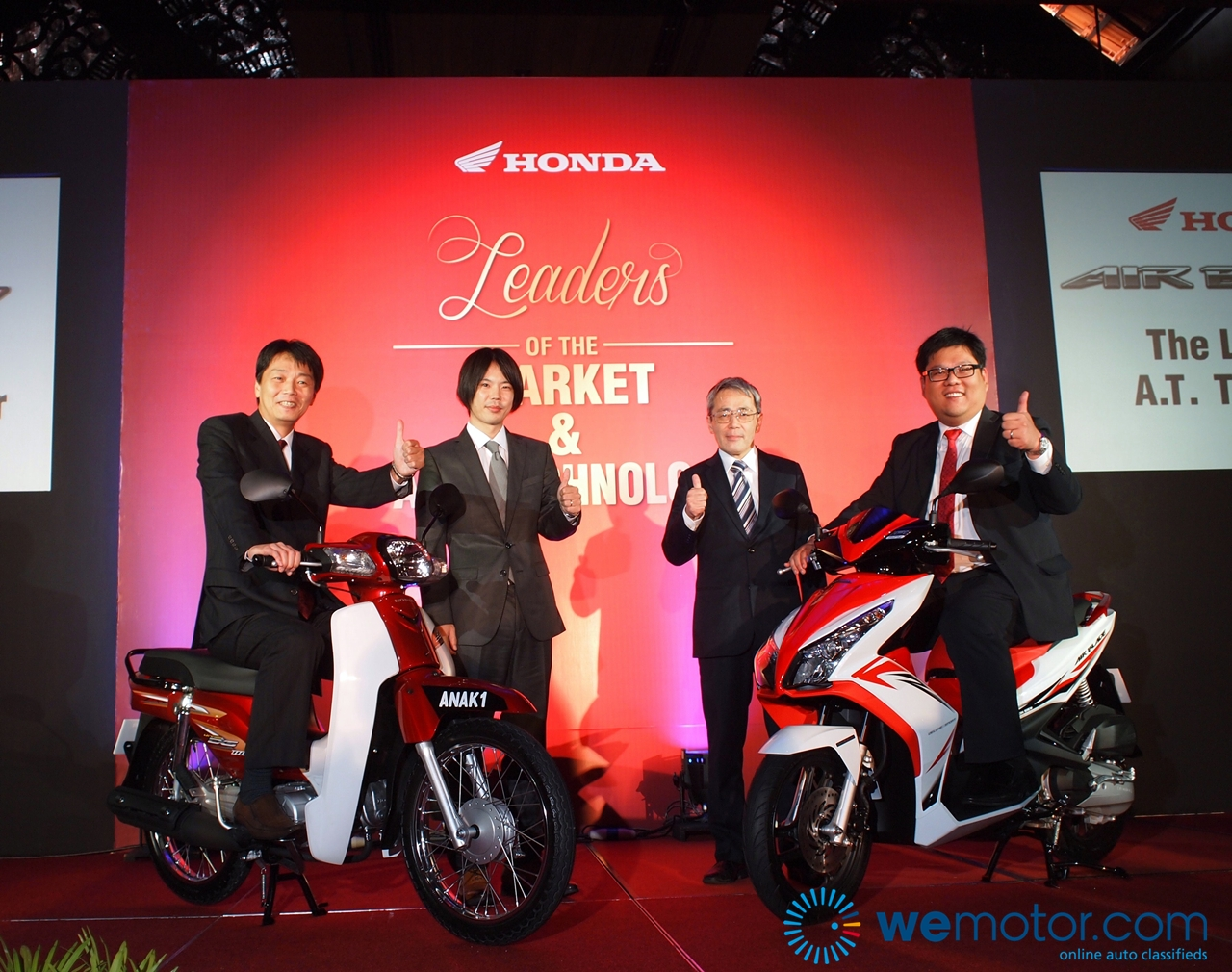 Boon Siew Honda EX5 Dream 110 & Air Blade Launch 003