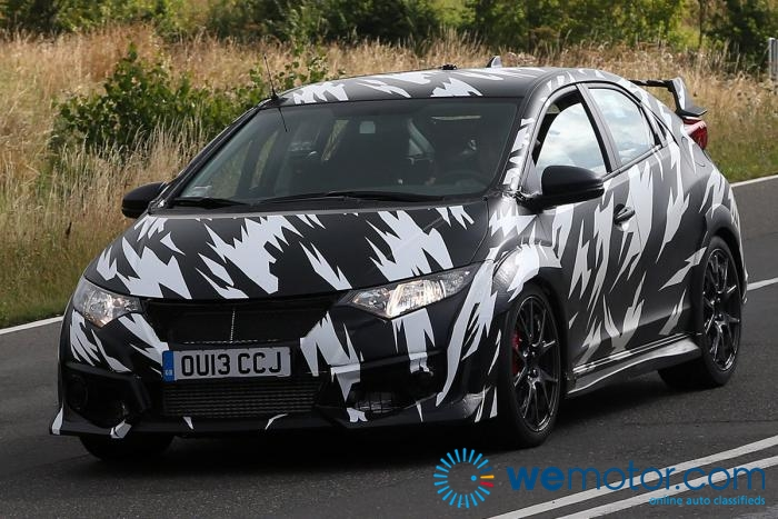 2015 Honda Civic Type R Spy Shots 002