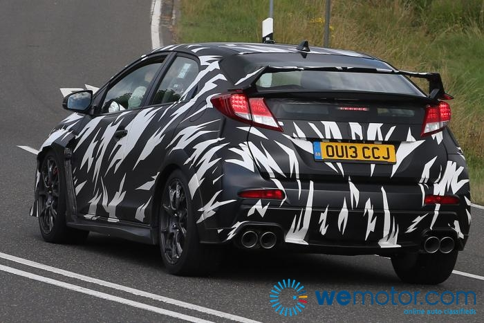 2015 Honda Civic Type R Spy Shots 007