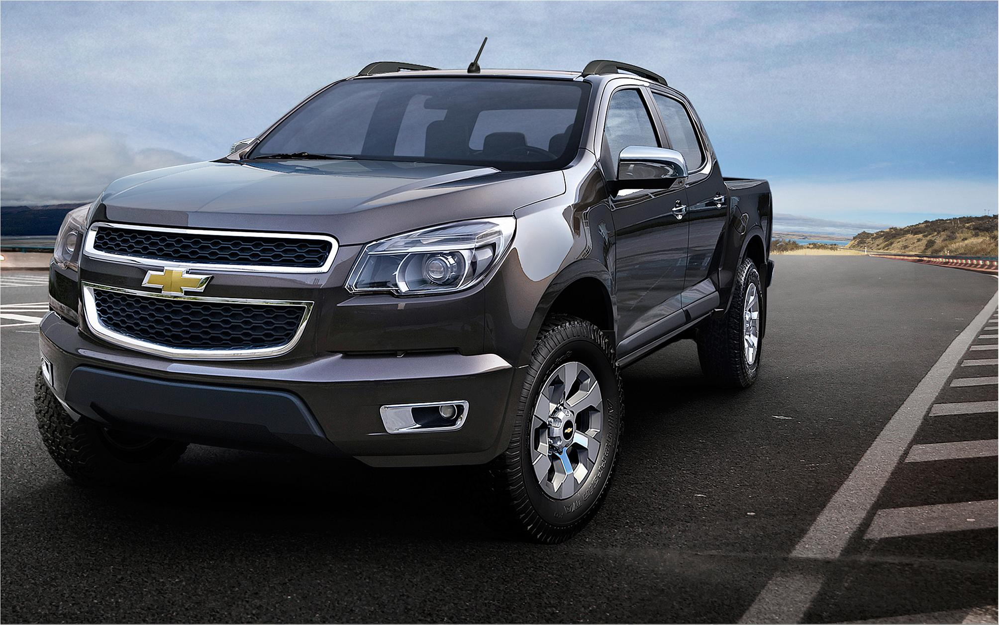 2012 all-new Chevrolet Colorado Crew Cab (Thailand version)