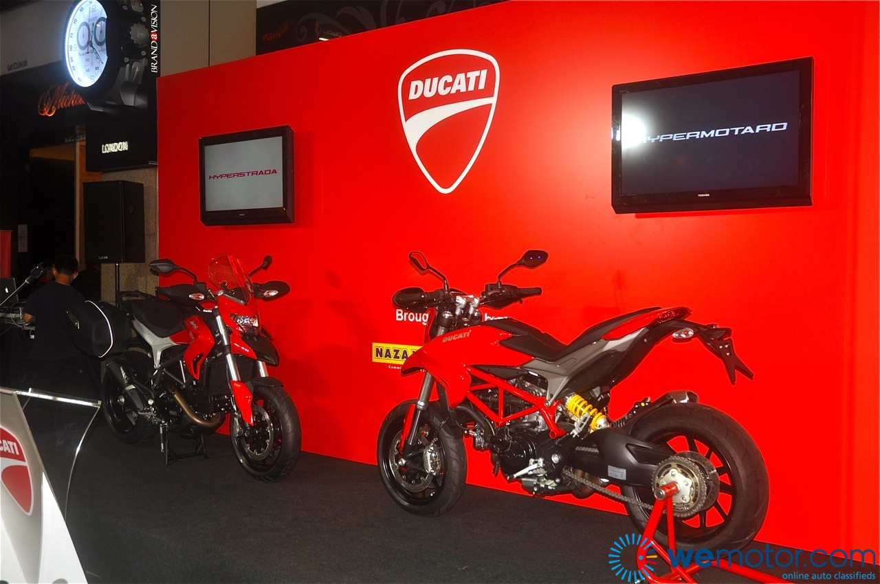 Ducati Hyperstrada and Hypermotard Launch by Nicky Hayden 03