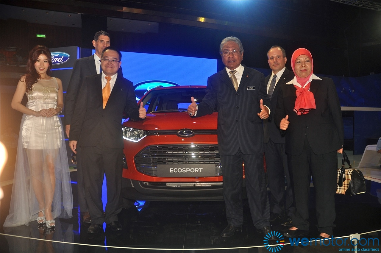 Ford EcoSport and Fiesta 1.0 litre EcoBoost Unveiling 01
