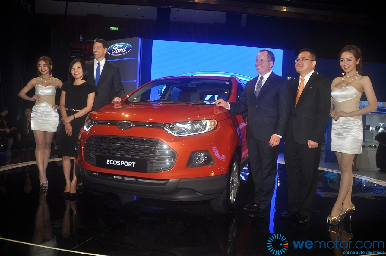 Ford EcoSport and Fiesta 1.0 litre EcoBoost Unveiling 06