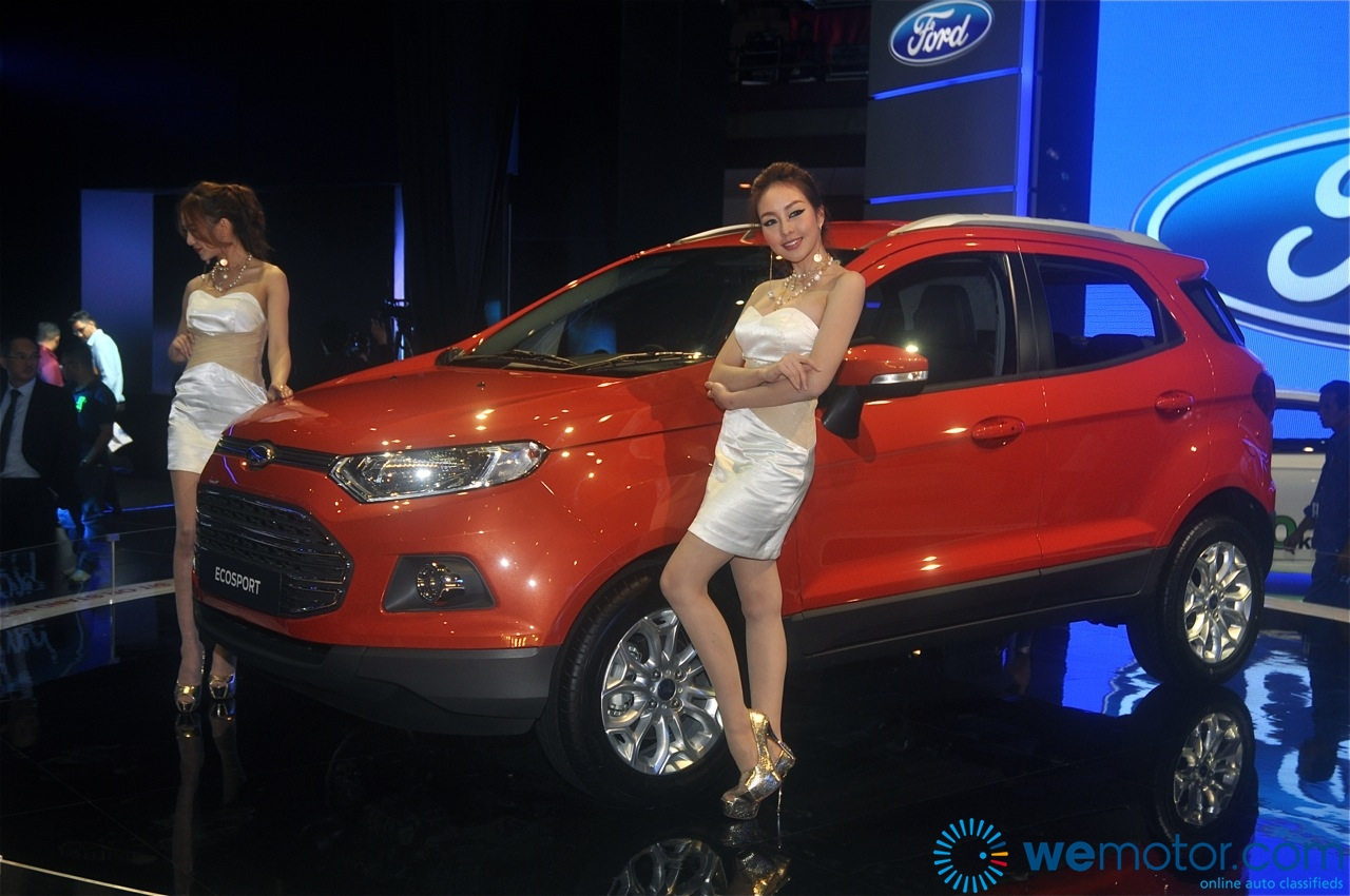 Ford EcoSport and Fiesta 1.0 litre EcoBoost Unveiling 08