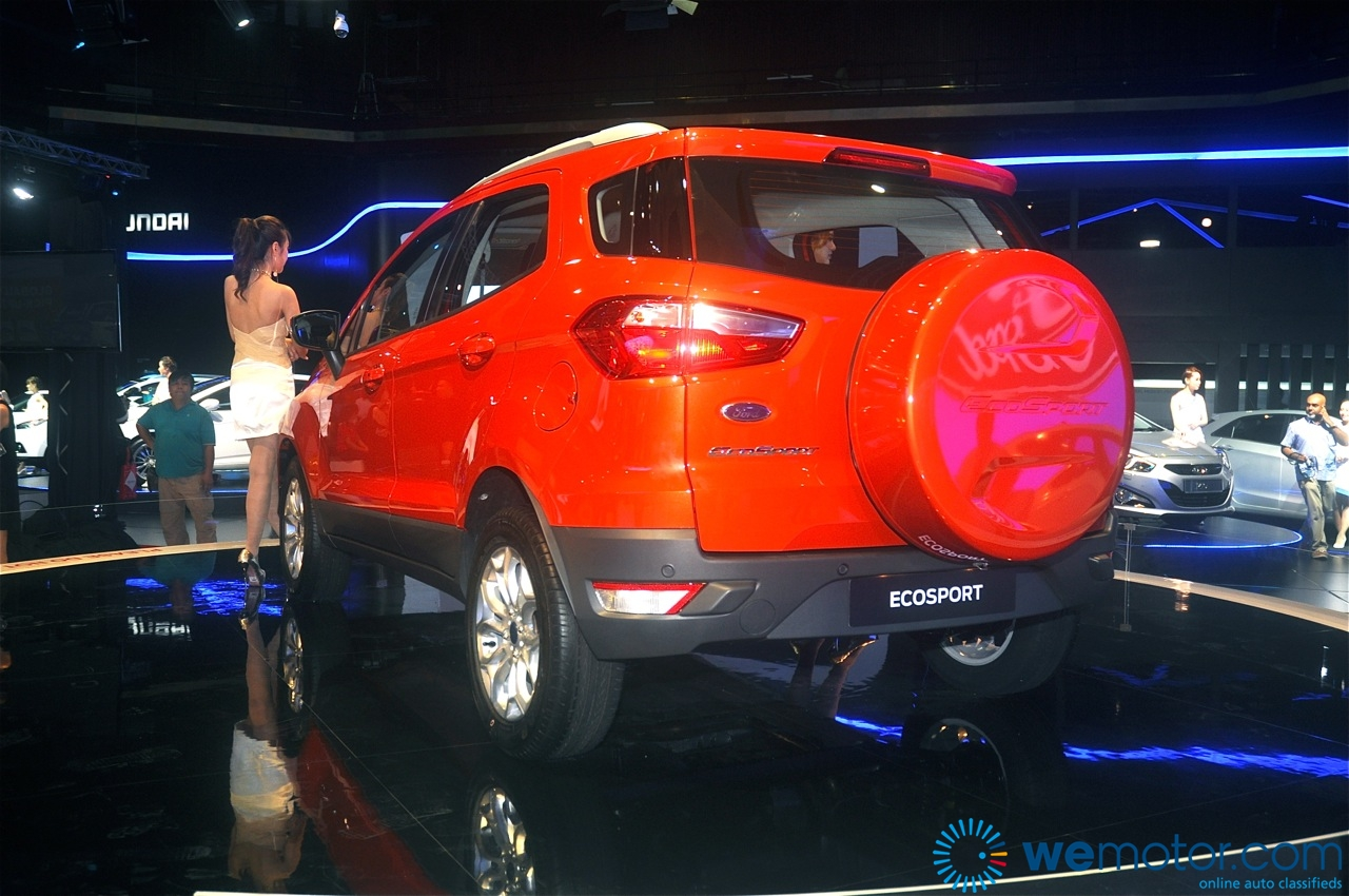 Ford EcoSport and Fiesta 1.0 litre EcoBoost Unveiling 11