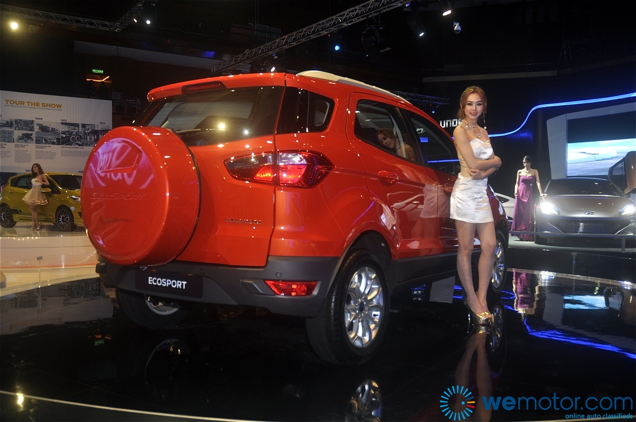 Ford EcoSport and Fiesta 1.0 litre EcoBoost Unveiling 12