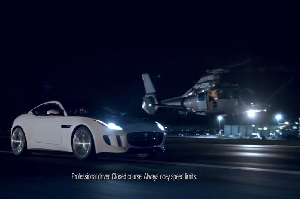 super-bowl-Jaguar-F-Type-Coupe-with-helicopter