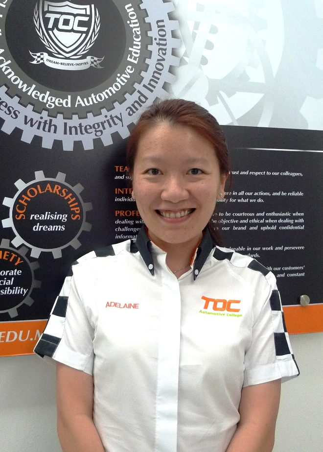 TOC Founder and CEO Adelaine Foo