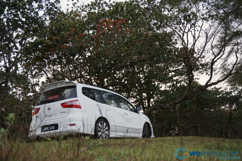 2014 Nissan Grand Livina Tuned By Impul test Drive 023