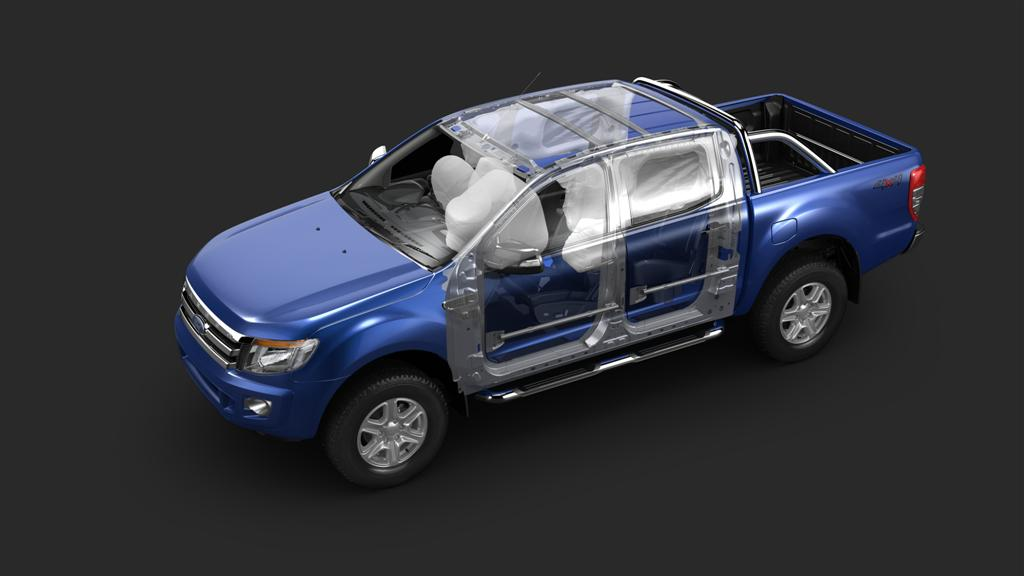 Ford Ranger Upgraded Safety Features - 3