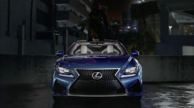 Lexus Amazing In Motion Campaign Strobe Commercial Endshot