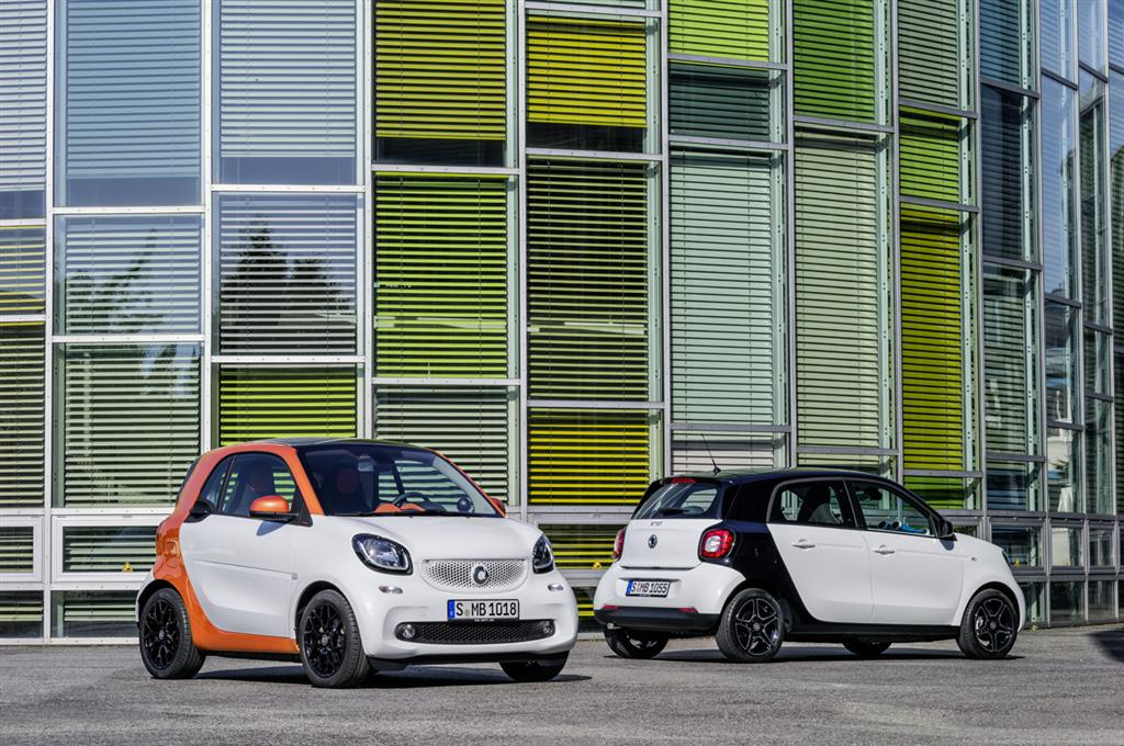Smart Fortwo and Forfour Reveal - 1