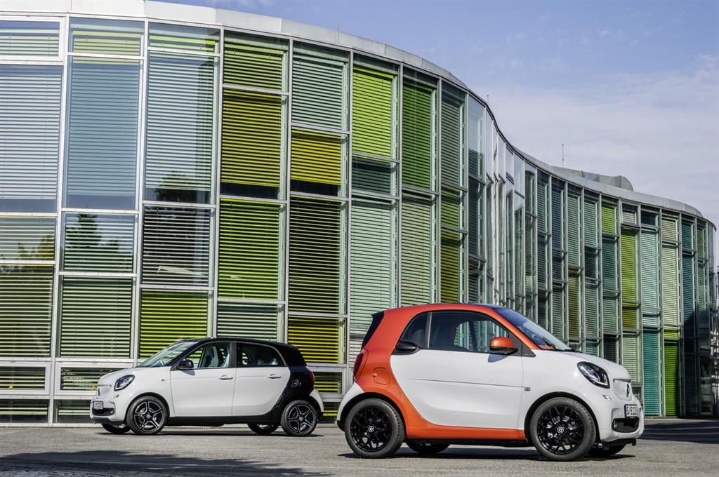 Smart Fortwo and Forfour Reveal - 18