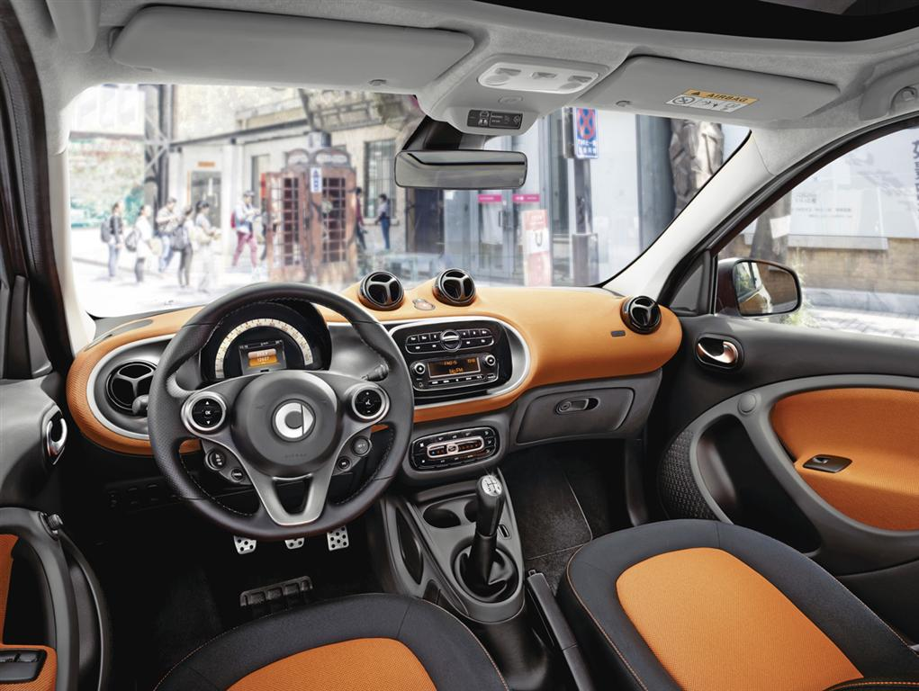 Smart Fortwo and Forfour Reveal - 22