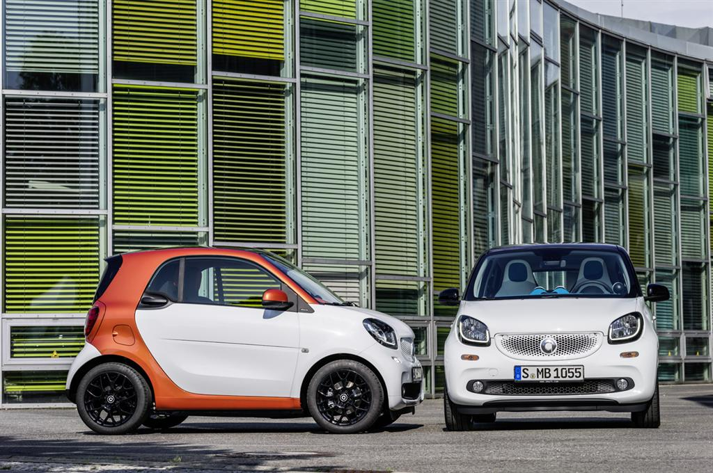 Smart Fortwo and Forfour Reveal - 50