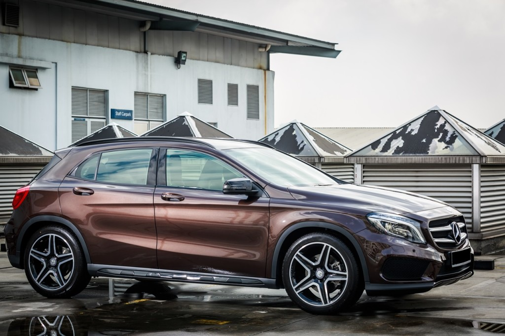 launch 2015 mercedes benz gla class from rm238 888. Black Bedroom Furniture Sets. Home Design Ideas