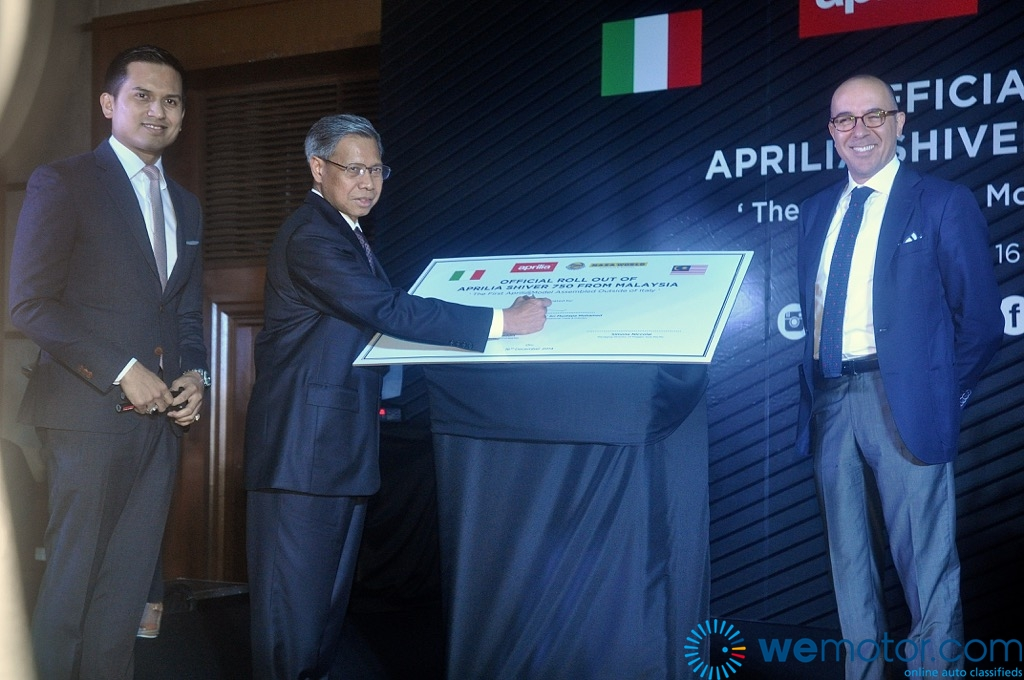 Aprilia Shiver 750 CKD Launch 01