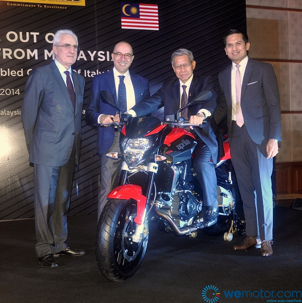 Aprilia Shiver 750 CKD Launch 23