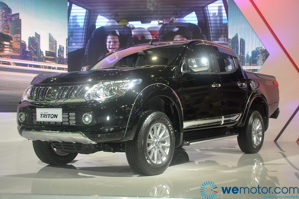 All New 5th Generation Mitsubishi Triton Now Available For