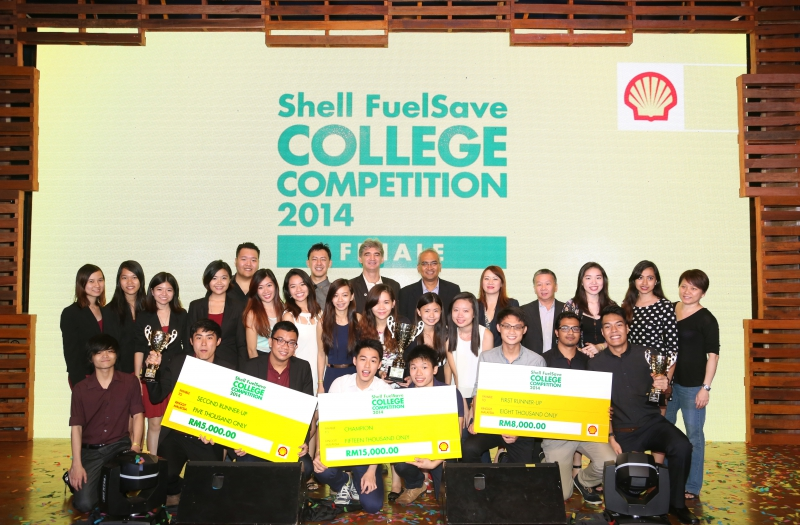 Shell FuelSave College Challenge 2014 - 2