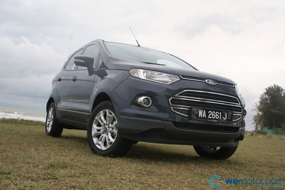 review 2014 ford ecosport 1 5 titanium. Black Bedroom Furniture Sets. Home Design Ideas