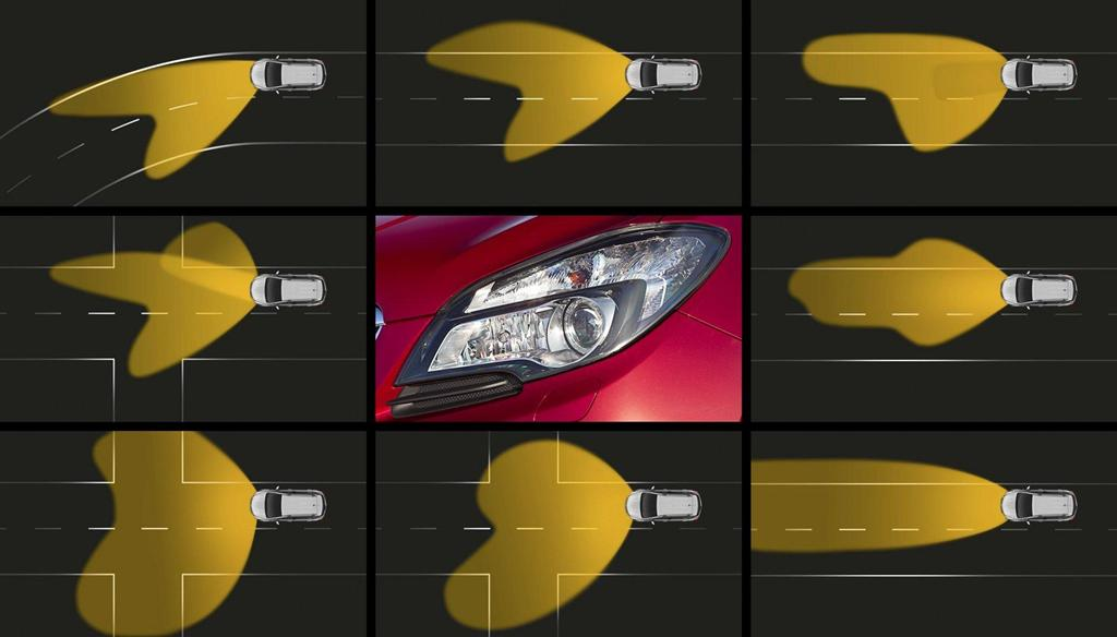 Opel - Eye-Tracking Adaptive Headlight Technology - 6