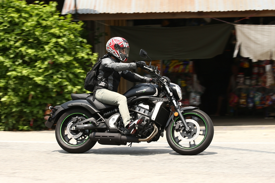 2015 Kawasaki Vulcan S Test Ride 038