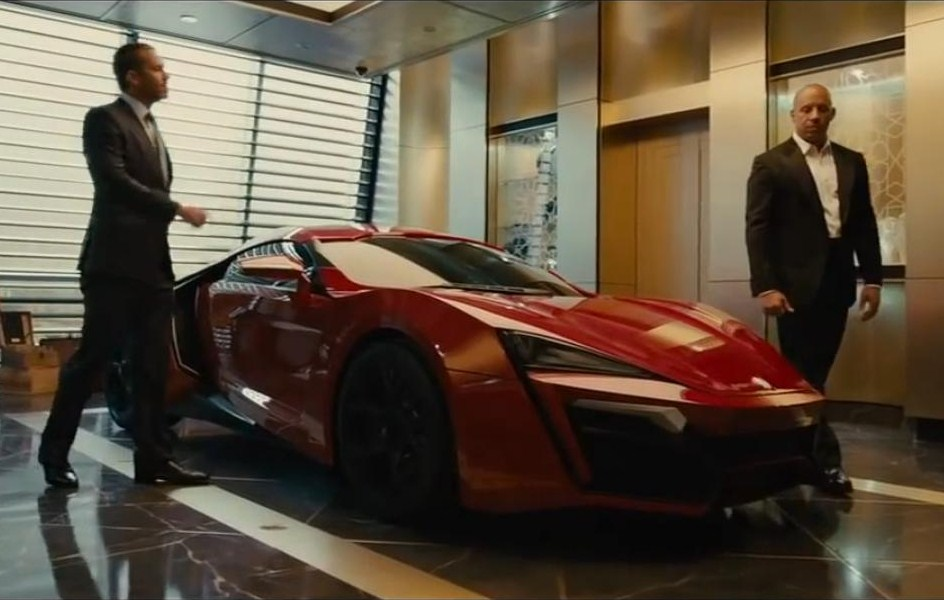 Fast And Furious 7 - Lykan Hypersport - Image