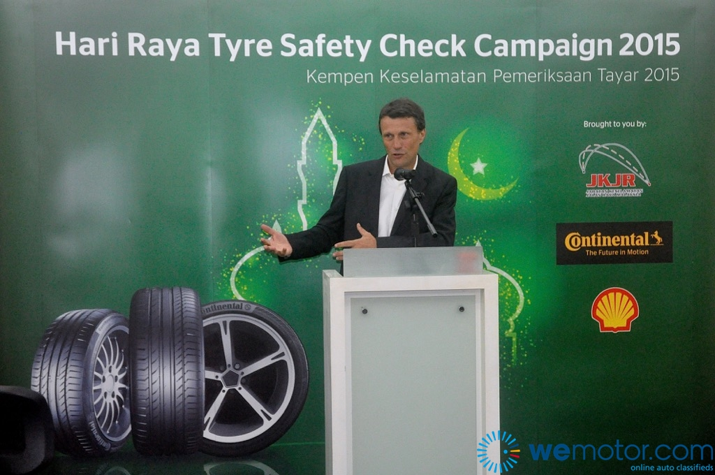 Continental Hari Raya Tyre Safety Check Campaign 2015 Launch 01