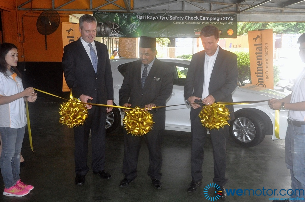 Continental Hari Raya Tyre Safety Check Campaign 2015 Launch 03