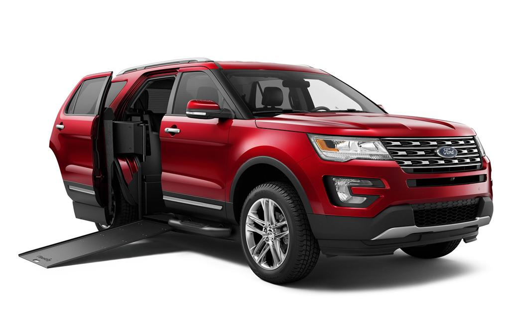 Braunability Mxv Is A Ford Explorer Suv With Wheelchair