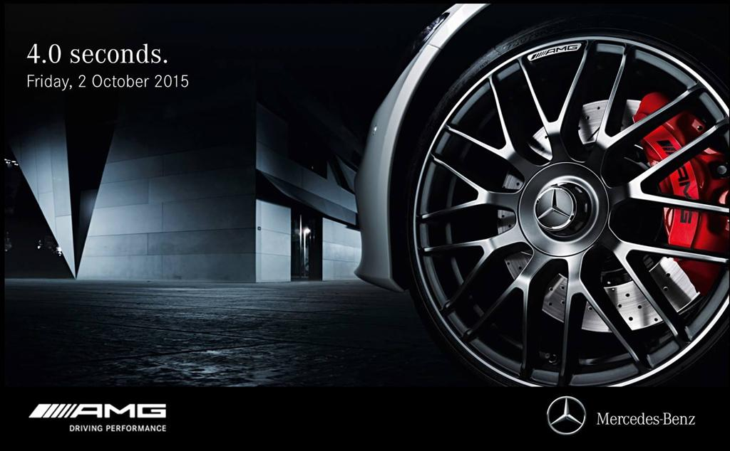 Mercedes benz malaysia teases new amg model for Mercedes benz poster