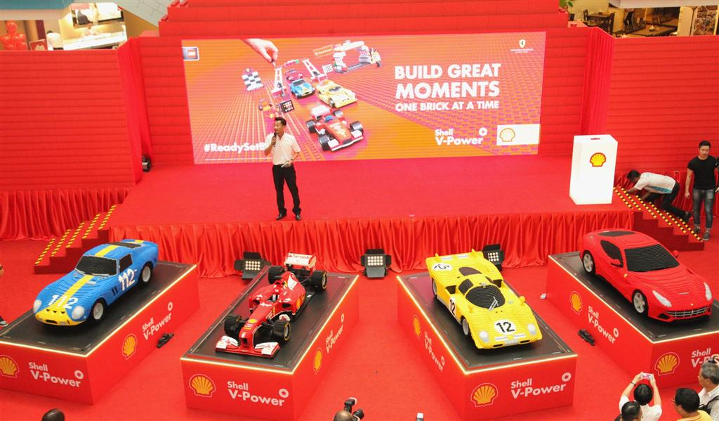 Shell V-Power Lego Collection Launch - 1