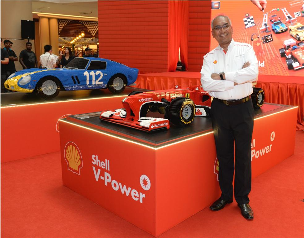 Shell V-Power Lego Collection Launch - 2
