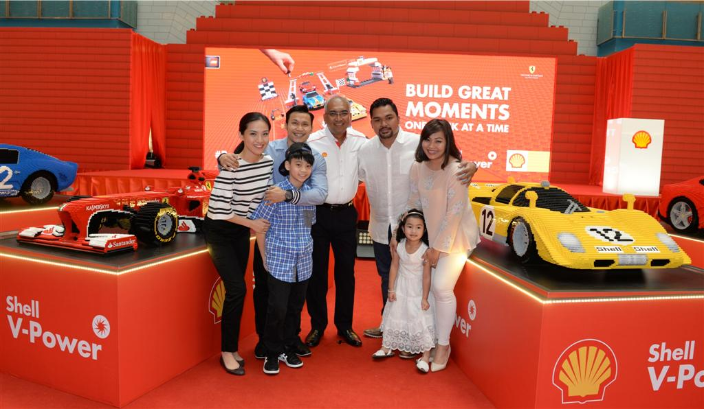 Shell V-Power Lego Collection Launch - 3