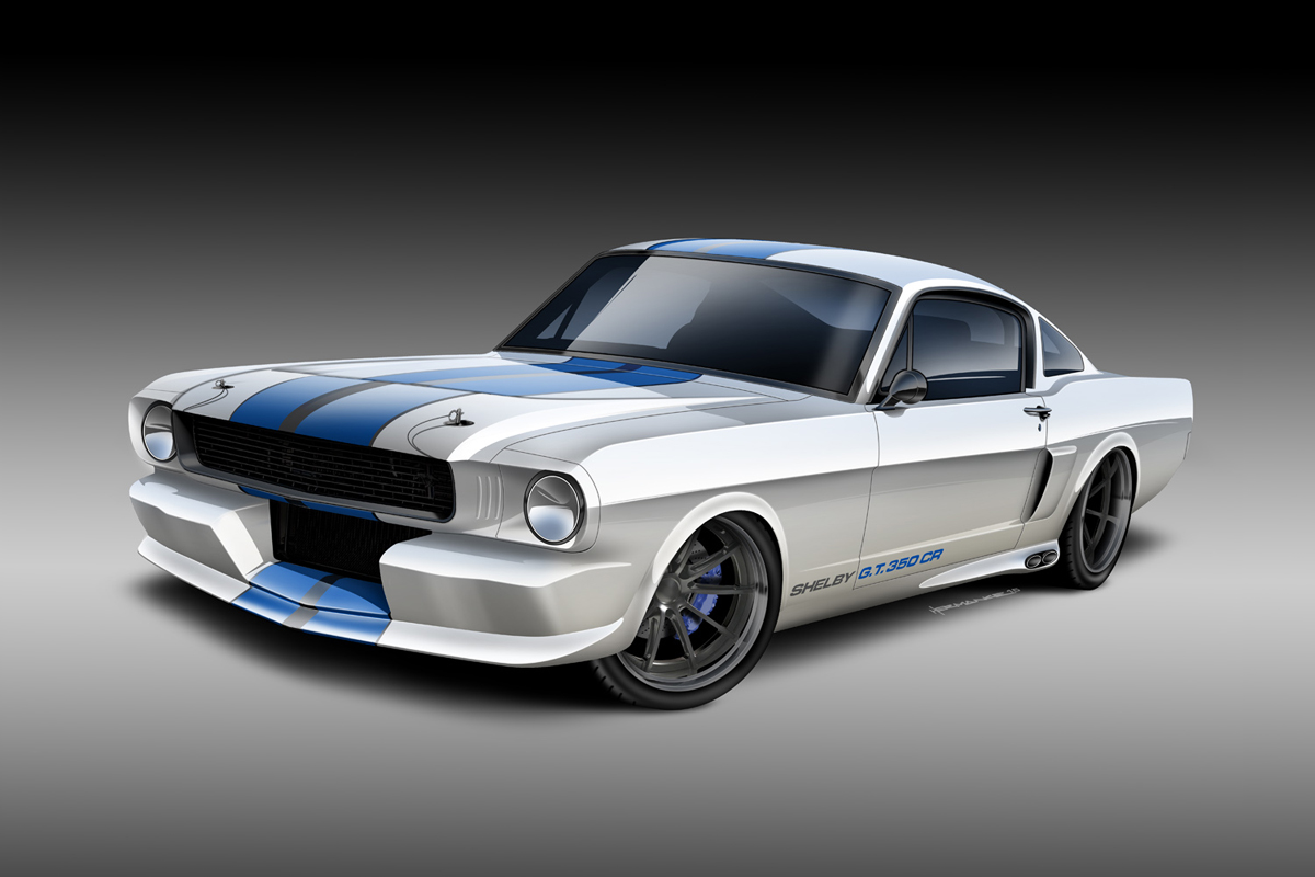 Classic Recreations Offering Shelby Mustangs With Ecoboost