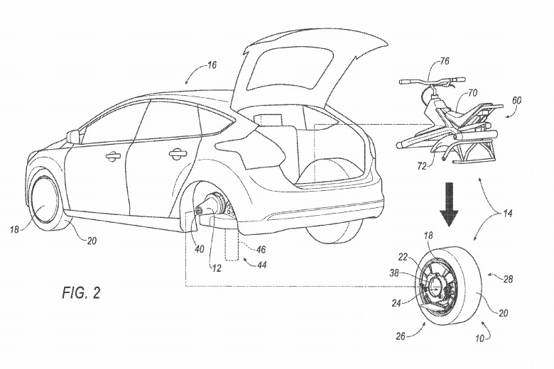 Ford Unicycle Patent 01