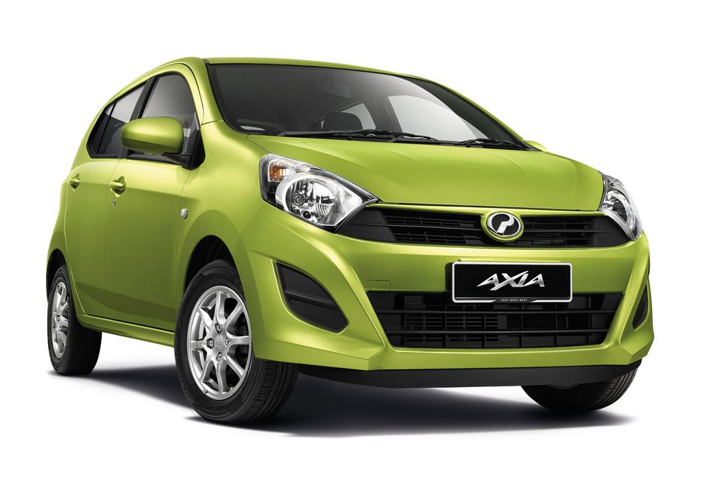 Perodua Axia G - ABS and Price Increase - File Photo - 2