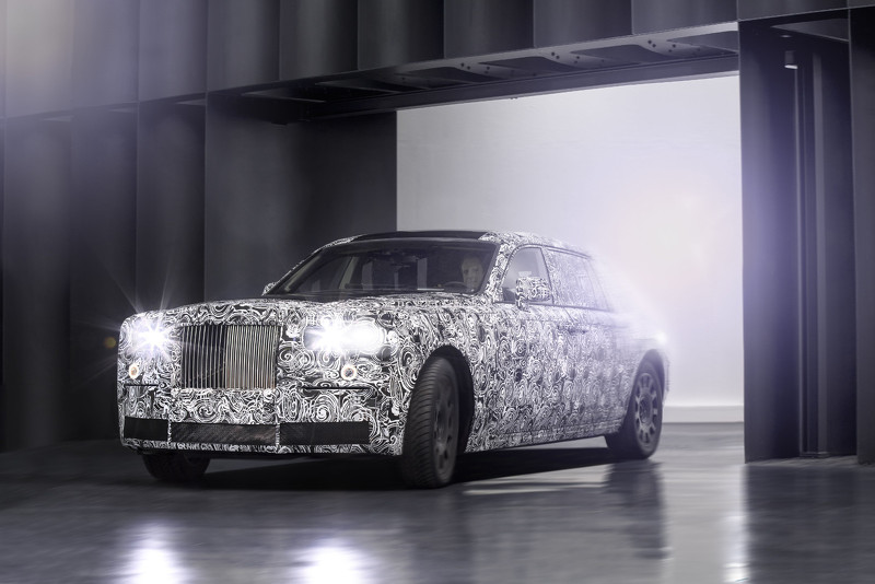 Rolls-Royce Spaceframe Architecture Test Mule